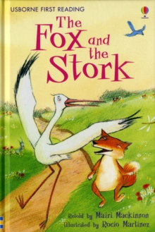 Fox and the Stork, Hardback Book