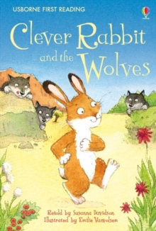 Clever Rabbit and the Wolves, Hardback Book