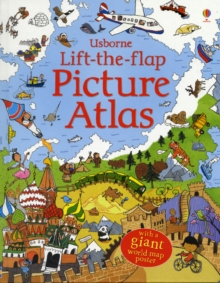 Lift-The-Flap Picture Atlas, Hardback Book