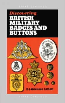 British Military Badges and Buttons, Paperback Book