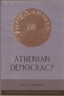 Athenian Democracy, Paperback / softback Book