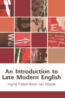 An Introduction to Late Modern English, Paperback Book