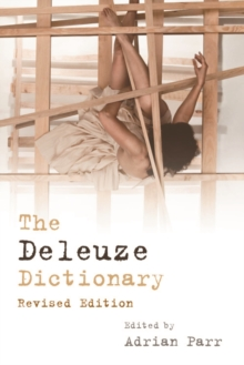 The Deleuze Dictionary, Paperback / softback Book