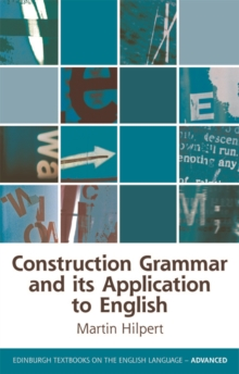Construction Grammar and its Application to English, Paperback Book