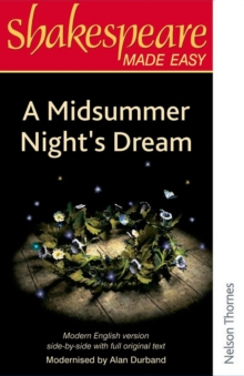 Shakespeare Made Easy: A Midsummer Night's Dream, Paperback Book