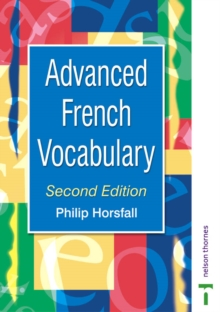 Advanced French Vocabulary, Paperback Book