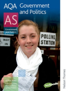 AQA Government and Politics AS, Paperback Book