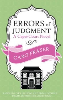 Errors of Judgment, Paperback Book