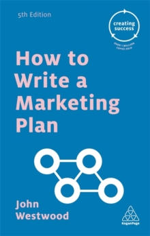 How to Write a Marketing Plan, Paperback Book