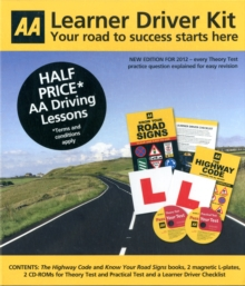 The Learner Driver Kit : AA Driving Test, Mixed media product Book