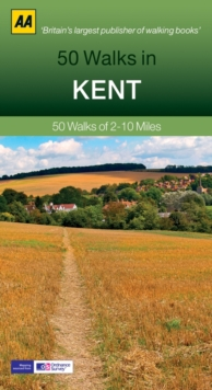 50 Walks in Kent, Paperback Book