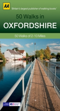 50 Walks in Oxfordshire, Paperback Book