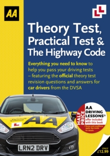 Theory Test, Practical Test & the Highway Code, Paperback Book