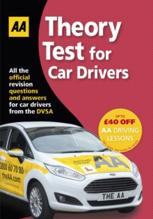 Theory Test for Car Drivers : AA Driving Test, Paperback Book