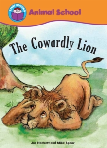 Start Reading: Animal School: The Cowardly Lion, Paperback Book