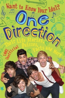 Want to Know Your Idol?: One Direction, Paperback Book