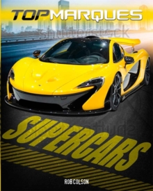 Top Marques: Supercars, Paperback Book