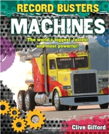 Record Busters: Machines, Paperback Book