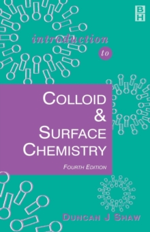 Introduction to Colloid and Surface Chemistry, Paperback Book