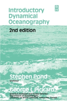 Introductory Dynamical Oceanography, Paperback Book
