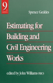 Estimating for Building & Civil Engineering Work, Hardback Book