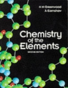 Chemistry of the Elements, Paperback Book