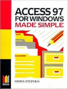Access 97 for Windows Made Simple, Paperback Book