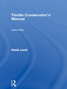 Textile Conservator's Manual, Paperback Book