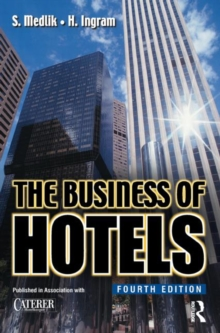 The Business of Hotels, Paperback Book