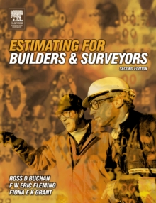 Estimating for Builders and Surveyors, Paperback Book