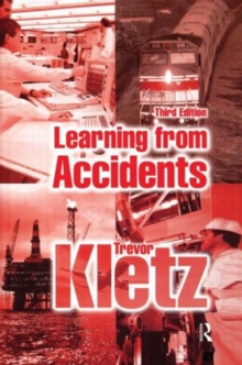 Learning from Accidents, Hardback Book