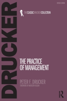 The Practice of Management, Paperback Book