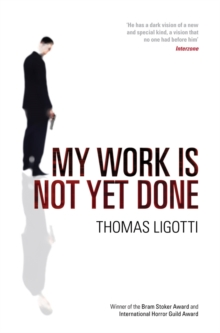 My Work is Not Yet Done, Paperback Book