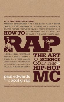 How to Rap, Paperback Book