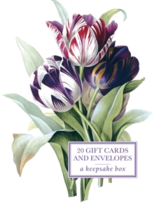 Tin Box of 20 Gift Cards and Envelopes: Redoute Tulip, Cards Book