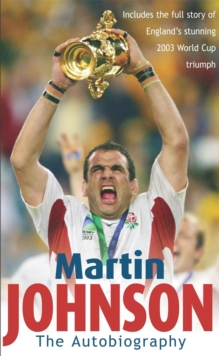Martin Johnson Autobiography, Paperback Book