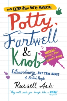 Potty, Fartwell and Knob, Paperback Book