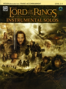 LORD OF THE RINGS THE VIOLIN/CD,  Book
