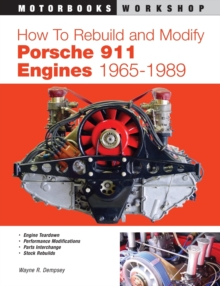 How to Rebuild and Modify Porsche 911 Engines 1965-1989, Paperback Book