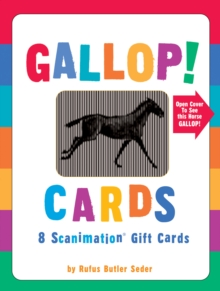 Gallop! Cards : 8 Scanimation Gift Cards, Diary Book