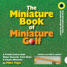 The Miniature Book of Miniature Golf, Board book Book