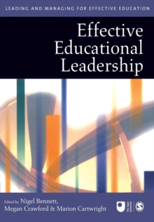 Effective Educational Leadership, Paperback Book