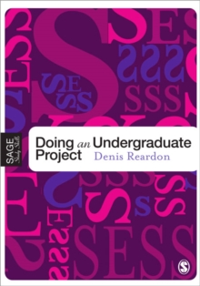 Doing Your Undergraduate Project, Paperback / softback Book