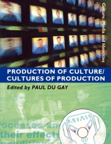 Production of Culture/Cultures of Production, Paperback Book