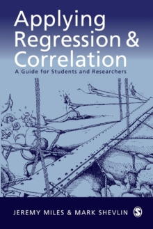 Applying Regression and Correlation : A Guide for Students and Researchers, Paperback Book