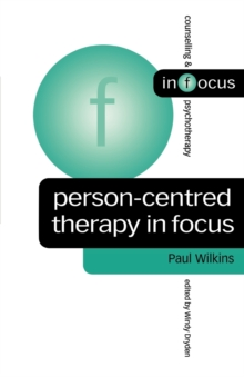 Person-centred Therapy in Focus, Paperback Book