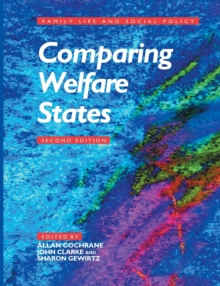 Comparing Welfare States, Paperback Book