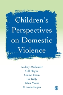 Children's Perspectives on Domestic Violence, Paperback Book