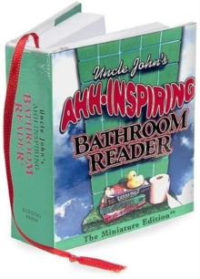 Uncle John's Ahh-inspiring Bathroom Reader, Hardback Book