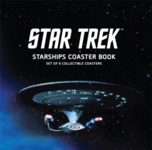 Star Trek Starships Coaster Book : Set of 6 Collectible Coasters